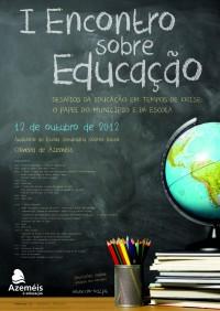 I Encontro sobre Educação CARTAZ